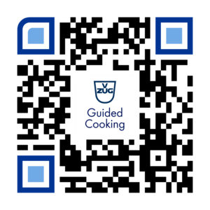 V-ZUG GuidedCooking App Download QR-Code