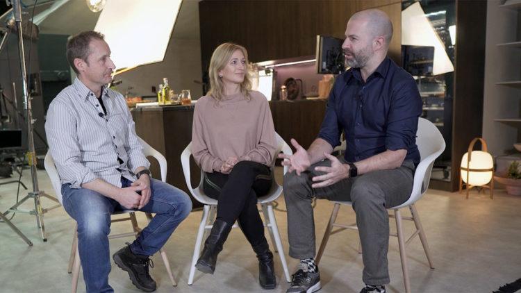 Roland Graf, Shery Kroschel und Andreas Schärer im Gespräch - Passion for Details