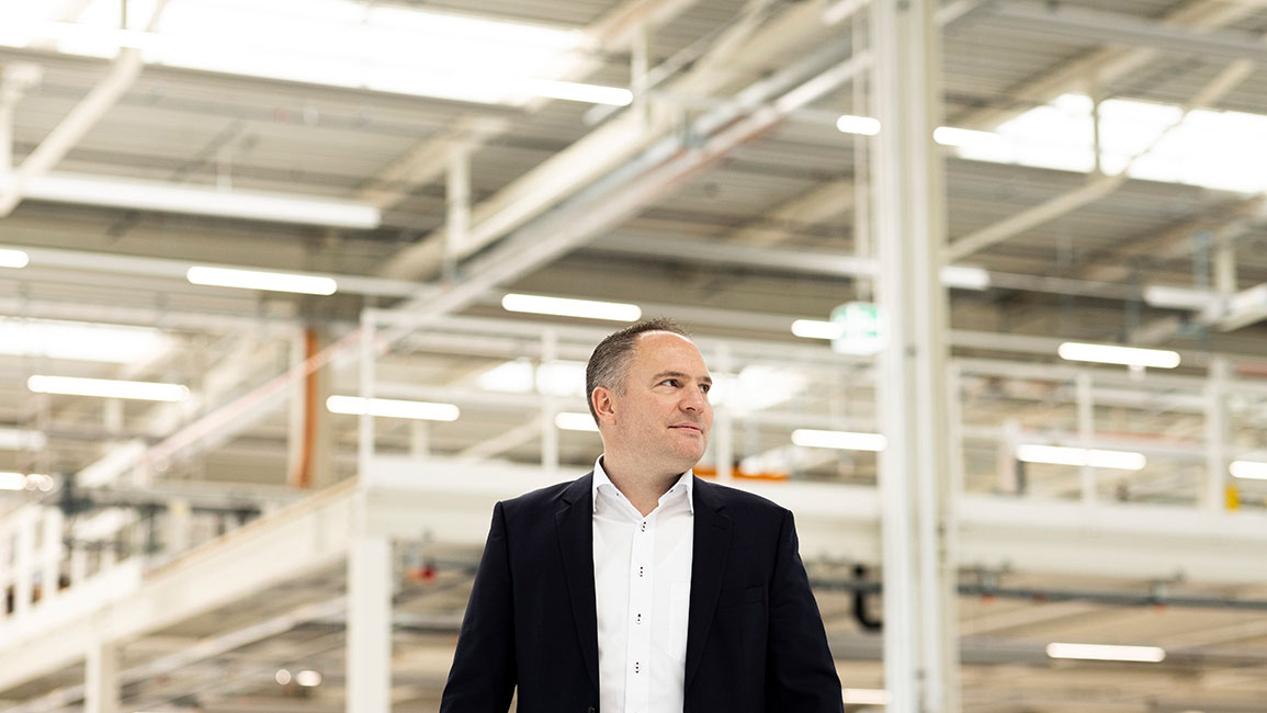Andreas Albrecht, Geschäftsführer V-ZUG Kühltechnik AG, Sulgen