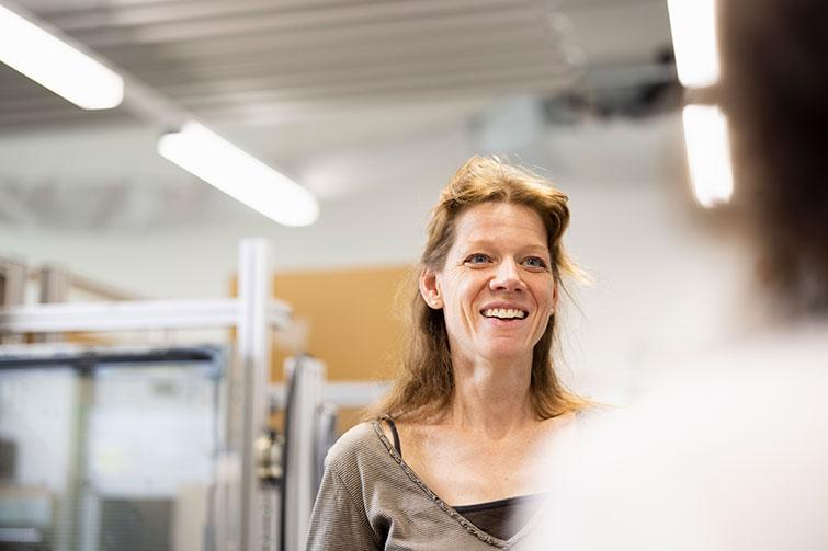 Sonja Haucke, Gruppenleiterin Entwicklung Anwendungstechnik V-ZUG AG