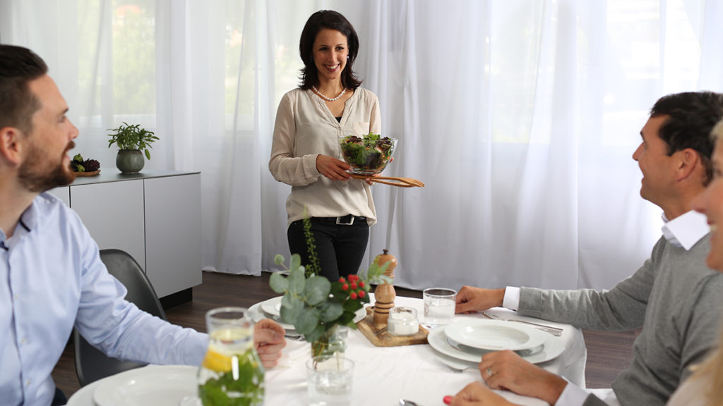 The perfect host – impress your guests blog vzug
