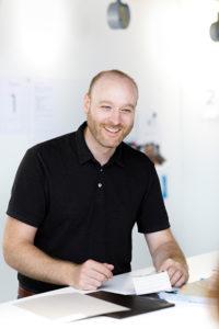 Benjamin Baumli, Head of Expos & Stores at V-ZUG