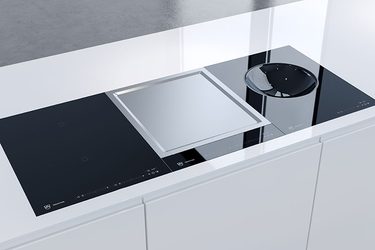 V-ZUG Teppan Yaki, Wok and hob