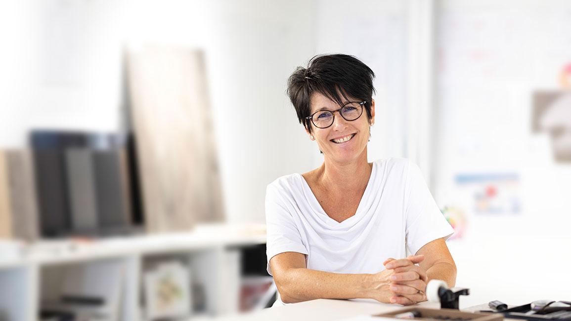 V-ZUG Carmen Wagner, customer advisor ZUGORAMA Zug