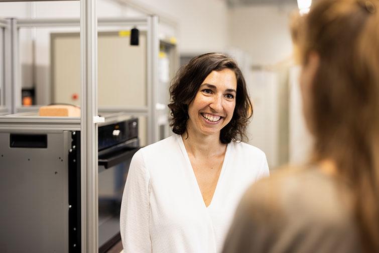 Janika Merz, oven/steam cooker development engineer V-ZUG