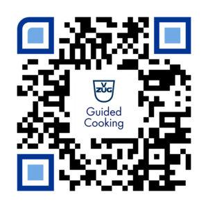 V-ZUG GuidedCooking App Download QR-Code