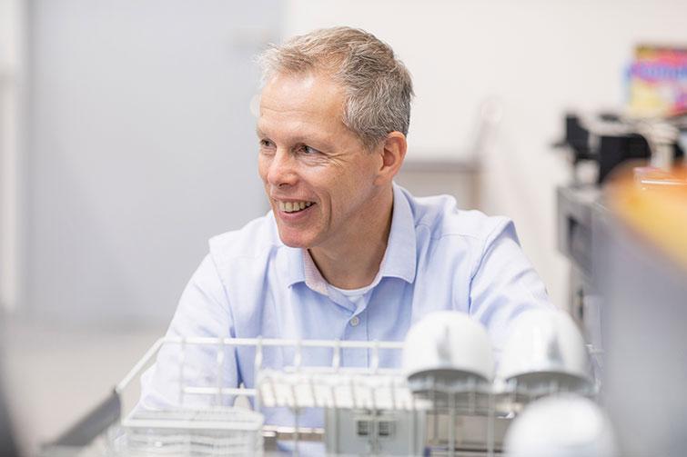 V-ZUG Markus Grämiger, chef de projet Adora équipe de base