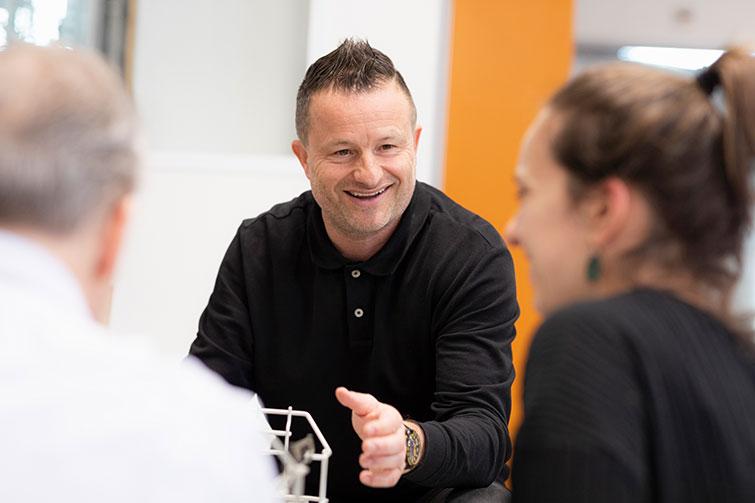V-ZUG Silvio Lehni, Product Manager Adora équipe de base