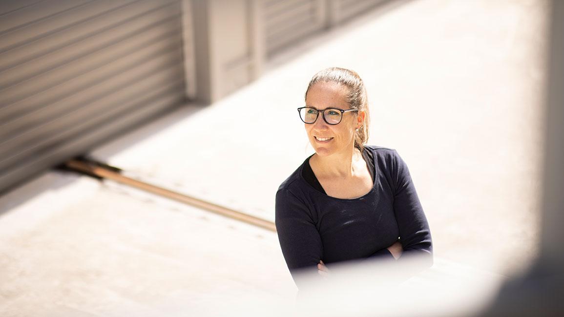 Daniela Arnold est cheffe de projet chez V-ZUG pour la représentation des utilisateurs du bâtimentZephyrWest, qui sera construit au sein du pôle technologique de Zoug