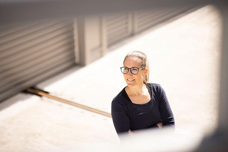 Daniela Arnold est cheffe de projet chez V-ZUG pour la représentation des utilisateurs du bâtimentZephyrWest, qui sera construit au sein du pôle technologique de Zoug.